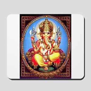 Ganesh / Ganesha Indian Elephant Hindu D Mousepad