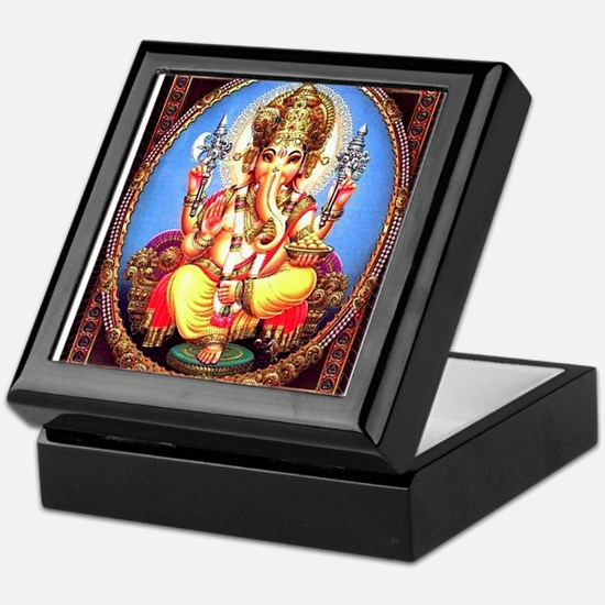 Ganesh / Ganesha Indian Elephant Hind Keepsake Box