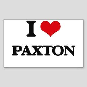 I Love Paxton Sticker