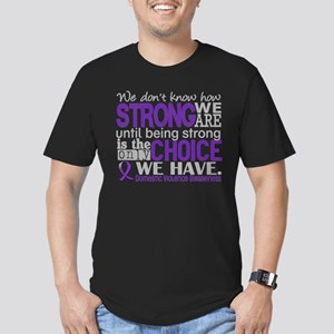 Domestic Violence HowS Men's Fitted T-Shirt (dark)