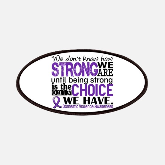 Domestic Violence HowStrongWeAre Patches