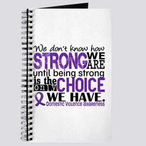 Domestic Violence HowStrongWeAre Journal