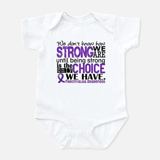 Fibromyalgia HowStrongWeAre Infant Bodysuit