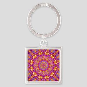 Trippy Hippy | v6 Geometric Mandala Keychains