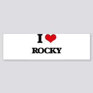 I Love Rocky Bumper Sticker