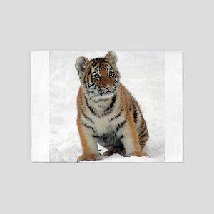 Tiger_2015_0111 5'x7'Area Rug