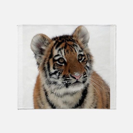 Tiger_2015_0113 Throw Blanket
