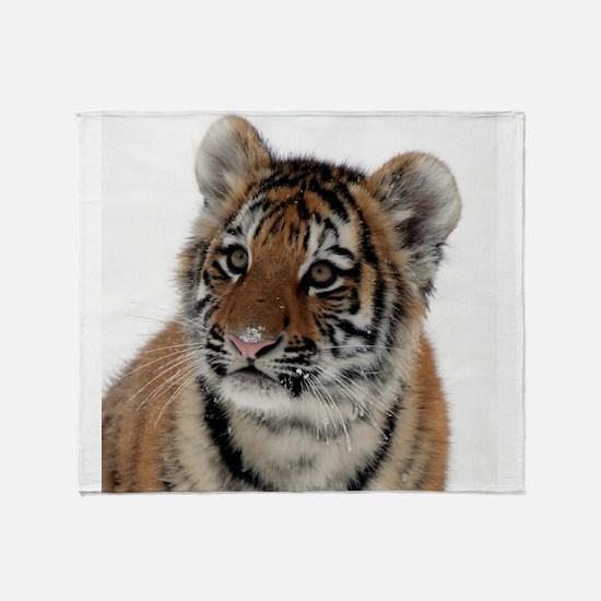 Tiger_2015_0114 Throw Blanket