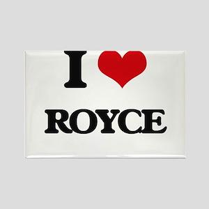 I Love Royce Magnets