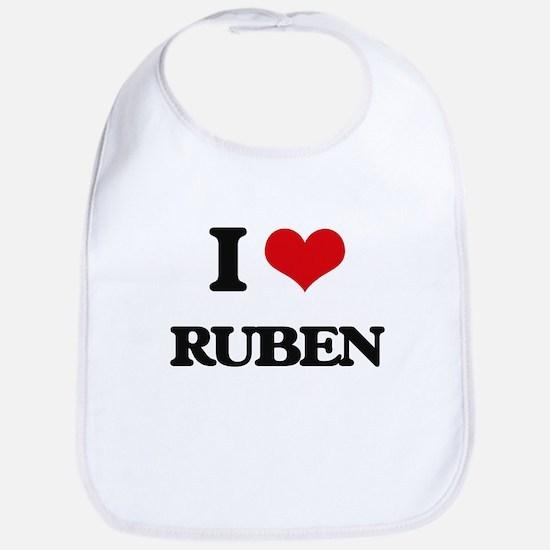 I Love Ruben Bib