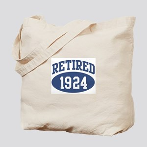 Retired 1924 (blue) Tote Bag