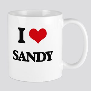 I Love Sandy Mugs