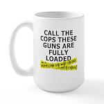 Call the Cops Large Mug