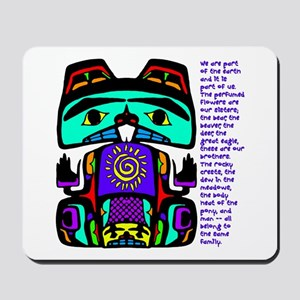 Native American Family Mousepad