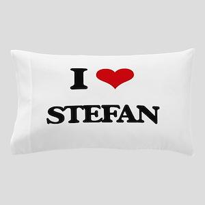 I Love Stefan Pillow Case