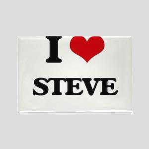 I Love Steve Magnets
