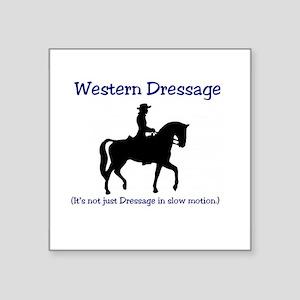 Western Dressage - It's not just Dressage Sticker