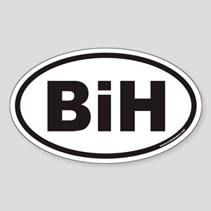 BiH Euro Oval Sticker