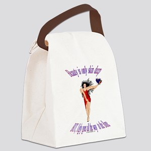 Beauty is only Canvas Lunch Bag