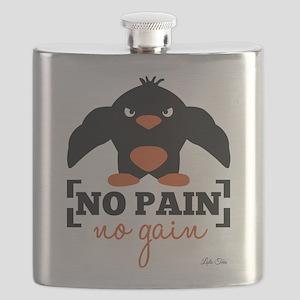No Pain, No Gain Flask