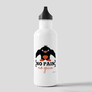 No Pain, No Gain Water Bottle