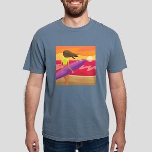 Surf Scape Mens Comfort Colors Shirt