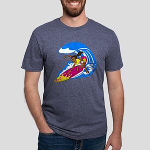 Hang 10! Mens Tri-blend T-Shirt