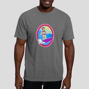 Surfer Girl Mens Comfort Colors Shirt