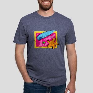 Surf Board Mens Tri-blend T-Shirt