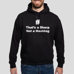 Sharp not Hashtag Hoodie