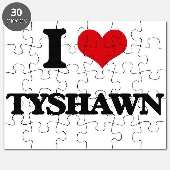 I Love Tyshawn Puzzle