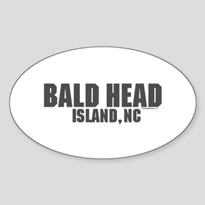 Bald Head Island Oval Sticker