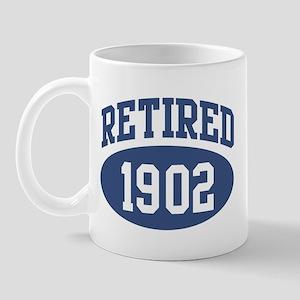 Retired 1902 (blue) Mug