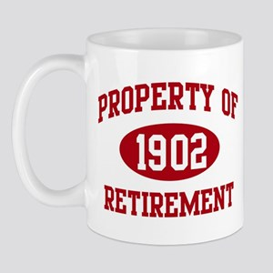 1902: Property of Retirement Mug