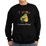 I Love Canoodling Sweatshirt (dark)