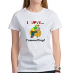 I Love Canoodling Women's T-Shirt