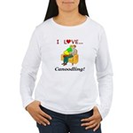 I Love Canoodling Women's Long Sleeve T-Shirt