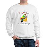 I Love Canoodling Sweatshirt
