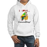 I Love Canoodling Hooded Sweatshirt