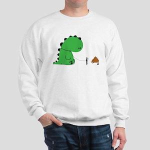 Oh Shit, Funny Dino Sweatshirt