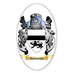 Iordanesco Sticker (Oval 10 pk)
