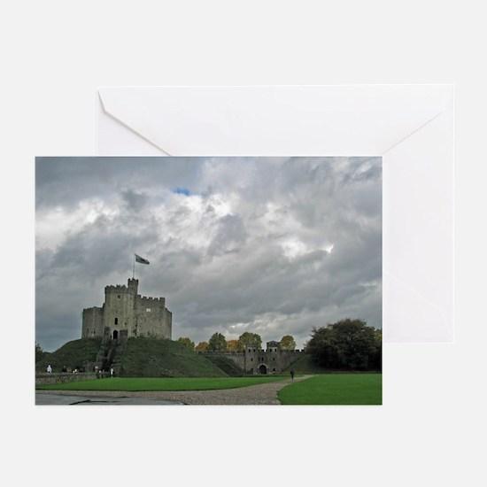 Medieval Welsh Castle Greeting Cards (Pack of 6)