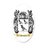 Ionesco Oval Car Magnet