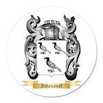 Iohananof Round Car Magnet