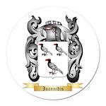 Ioannidis Round Car Magnet