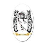 Ioannidis 35x21 Oval Wall Decal