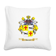 Intrieri Square Canvas Pillow