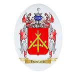 Interlandi Ornament (Oval)