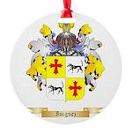 Iniguez Round Ornament