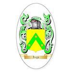 Ings Sticker (Oval 50 pk)